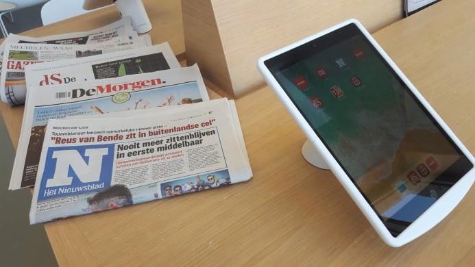 iPads in krantenhoek