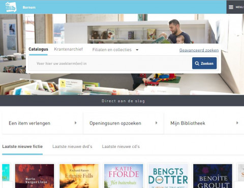 Nieuwe site preview